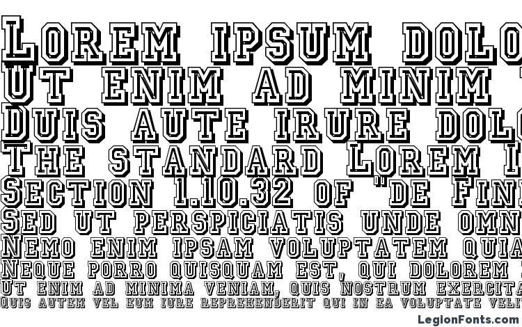 specimens Jerseyletters font, sample Jerseyletters font, an example of writing Jerseyletters font, review Jerseyletters font, preview Jerseyletters font, Jerseyletters font