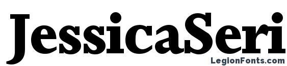 JessicaSerial Xbold Regular Font