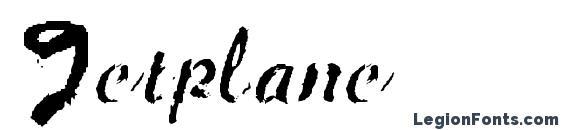 Jetplane font, free Jetplane font, preview Jetplane font