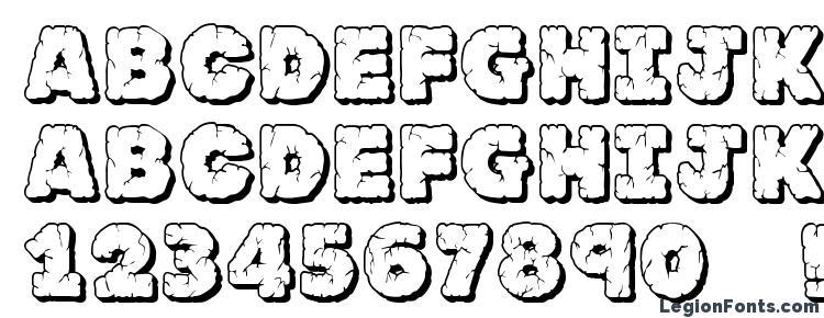 глифы шрифта JFRockOutcrop, символы шрифта JFRockOutcrop, символьная карта шрифта JFRockOutcrop, предварительный просмотр шрифта JFRockOutcrop, алфавит шрифта JFRockOutcrop, шрифт JFRockOutcrop