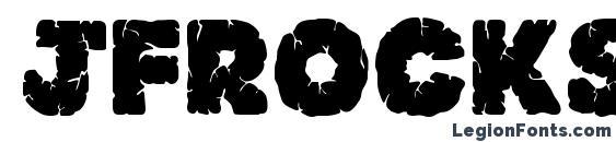 Jfrocksolid Font, Halloween Fonts