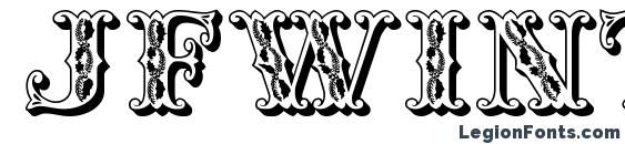 JFWinterFair Font, 3D Fonts