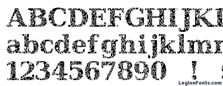 glyphs JI Hidden Vines font, сharacters JI Hidden Vines font, symbols JI Hidden Vines font, character map JI Hidden Vines font, preview JI Hidden Vines font, abc JI Hidden Vines font, JI Hidden Vines font