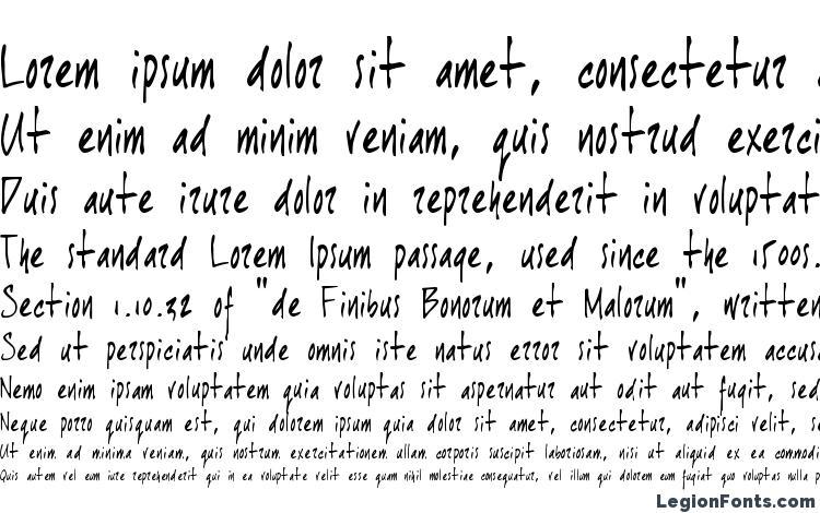 specimens Joehand font, sample Joehand font, an example of writing Joehand font, review Joehand font, preview Joehand font, Joehand font
