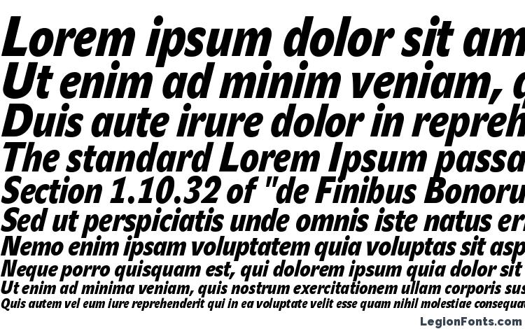 specimens JohnSansCond Black Pro Italic font, sample JohnSansCond Black Pro Italic font, an example of writing JohnSansCond Black Pro Italic font, review JohnSansCond Black Pro Italic font, preview JohnSansCond Black Pro Italic font, JohnSansCond Black Pro Italic font