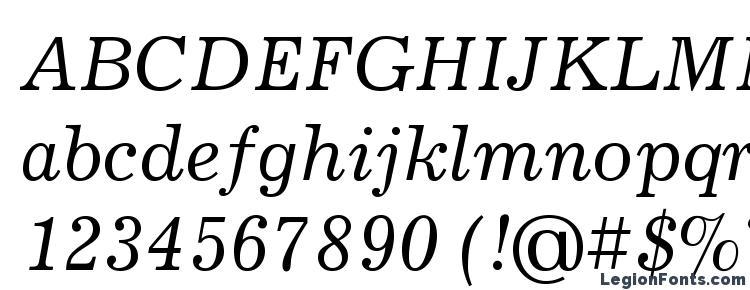 глифы шрифта JournalC Italic, символы шрифта JournalC Italic, символьная карта шрифта JournalC Italic, предварительный просмотр шрифта JournalC Italic, алфавит шрифта JournalC Italic, шрифт JournalC Italic