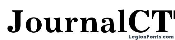 JournalCTT Bold Font