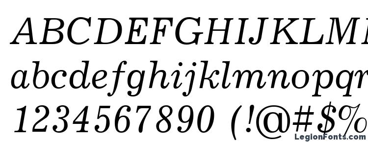 глифы шрифта JournalCTT Italic, символы шрифта JournalCTT Italic, символьная карта шрифта JournalCTT Italic, предварительный просмотр шрифта JournalCTT Italic, алфавит шрифта JournalCTT Italic, шрифт JournalCTT Italic