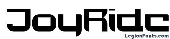 Шрифт JoyRider Bold