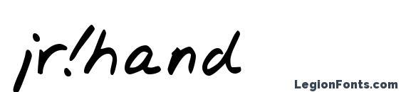 jr!hand Font