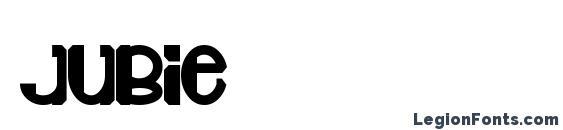 шрифт Jubie, бесплатный шрифт Jubie, предварительный просмотр шрифта Jubie