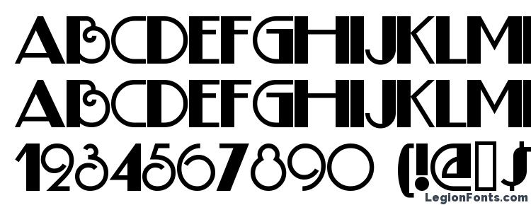 glyphs Judith Deco font, сharacters Judith Deco font, symbols Judith Deco font, character map Judith Deco font, preview Judith Deco font, abc Judith Deco font, Judith Deco font