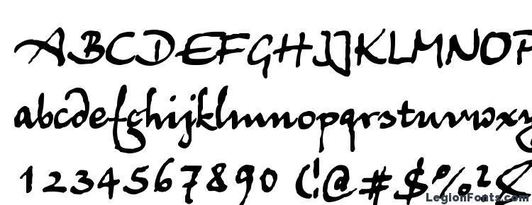 глифы шрифта Juergen, символы шрифта Juergen, символьная карта шрифта Juergen, предварительный просмотр шрифта Juergen, алфавит шрифта Juergen, шрифт Juergen