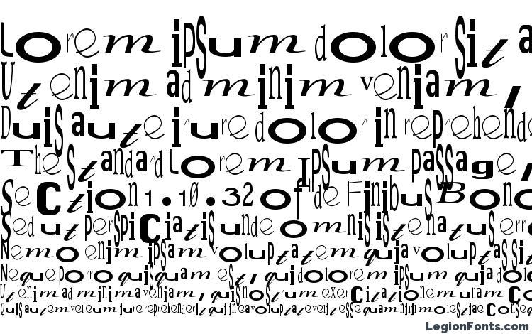 specimens Jumbalaya Regular font, sample Jumbalaya Regular font, an example of writing Jumbalaya Regular font, review Jumbalaya Regular font, preview Jumbalaya Regular font, Jumbalaya Regular font