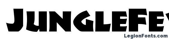 JungleFever font, free JungleFever font, preview JungleFever font