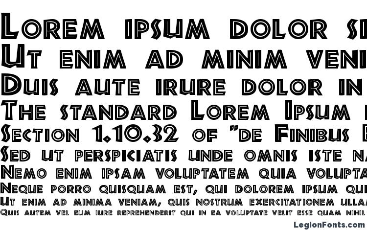 specimens Jurassic Regular font, sample Jurassic Regular font, an example of writing Jurassic Regular font, review Jurassic Regular font, preview Jurassic Regular font, Jurassic Regular font