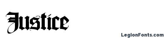 Justice Font, Medieval Fonts