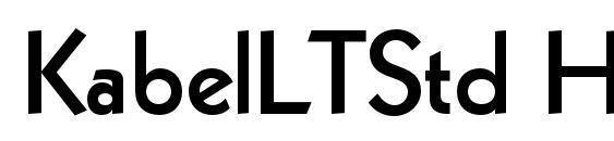Kabel LT Black Font Download Free / LegionFonts