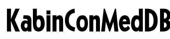 KabinConMedDB Normal Font