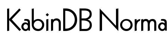 KabinDB Normal Font