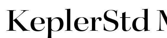 KeplerStd MediumExtDisp Font, OTF Fonts