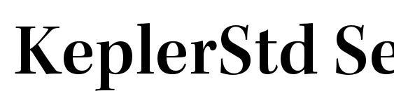 KeplerStd SemiboldSubh Font