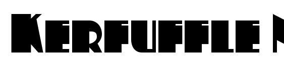 Kerfuffle NF Font