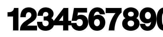 KyrillaSansSerif Black Font, Number Fonts