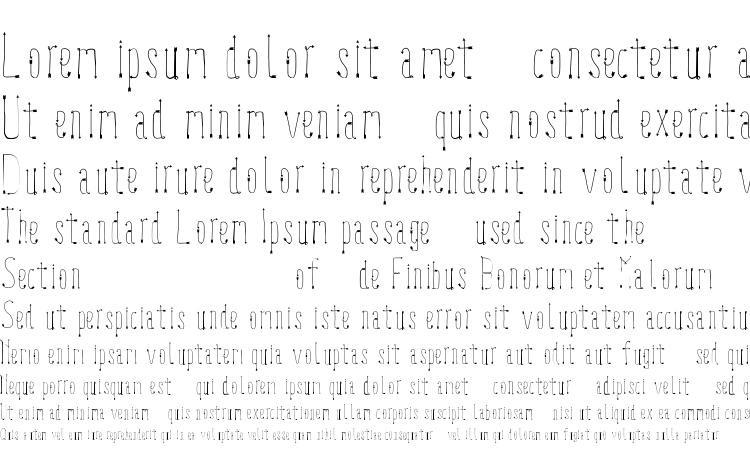 specimens LookUp font, sample LookUp font, an example of writing LookUp font, review LookUp font, preview LookUp font, LookUp font