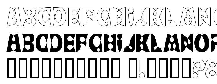glyphs LoopDeLoop font, сharacters LoopDeLoop font, symbols LoopDeLoop font, character map LoopDeLoop font, preview LoopDeLoop font, abc LoopDeLoop font, LoopDeLoop font