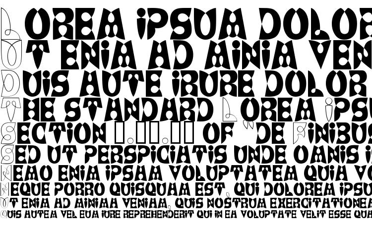 specimens LoopDeLoop font, sample LoopDeLoop font, an example of writing LoopDeLoop font, review LoopDeLoop font, preview LoopDeLoop font, LoopDeLoop font