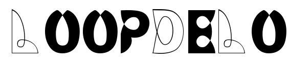 LoopDeLoop font, free LoopDeLoop font, preview LoopDeLoop font