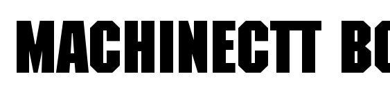 MachineCTT Bold Font