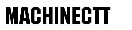 MachineCTT Font