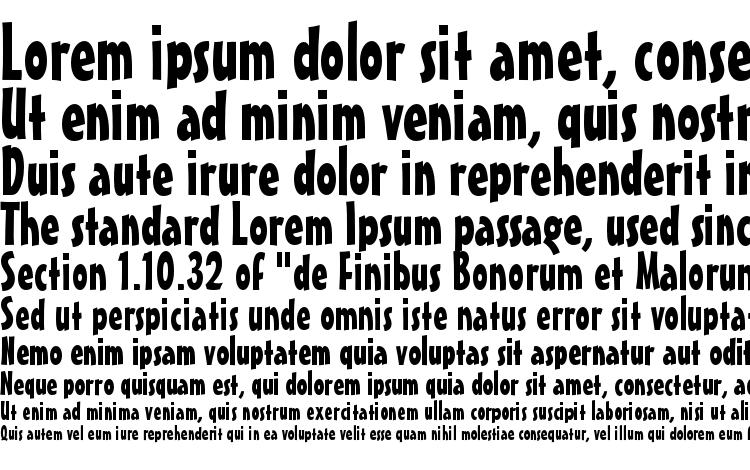 specimens Maestroc font, sample Maestroc font, an example of writing Maestroc font, review Maestroc font, preview Maestroc font, Maestroc font