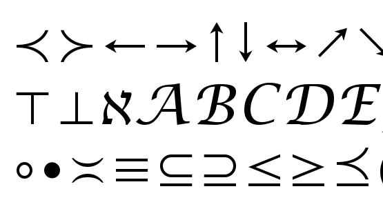 Math Symbol Font Download Free Legionfonts