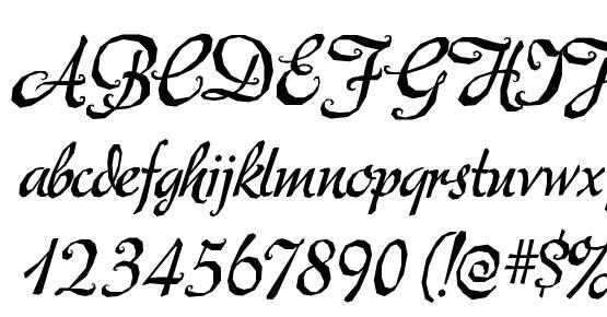mecheria font