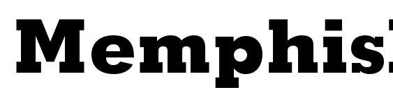 memphis extrabold font