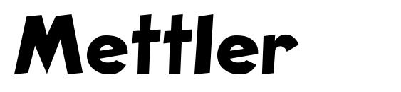 Mettler Font