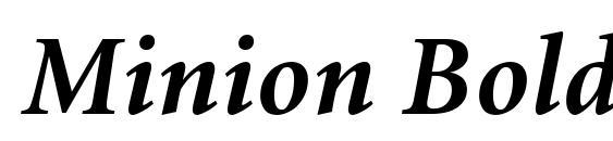 Download Minion-Bold Font