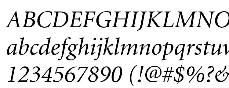 Minion Bold Font Sizes
