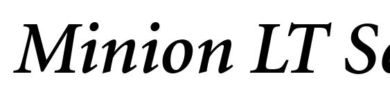 Minion pro bold italic font free download   Minion Pro Bold Italic