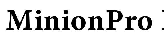 Minion LT Semibold Italic Font Download Free / LegionFonts