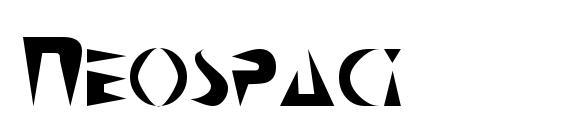 Neospaci Font