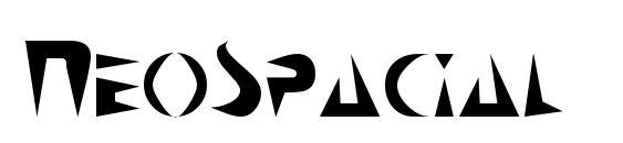 NeoSpacial Font
