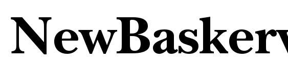 NewBaskervilleStd Bold Font, OTF Fonts