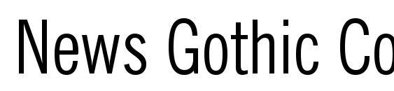 News Gothic Condensed BT Font