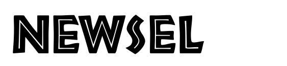 Newsel Font