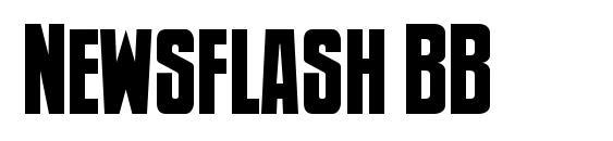 Newsflash BB Font
