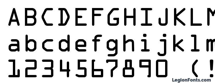 OCR A Regular Font Download Free / LegionFonts